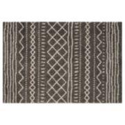 Safavieh Arizona Mesa Striped Shag Rug