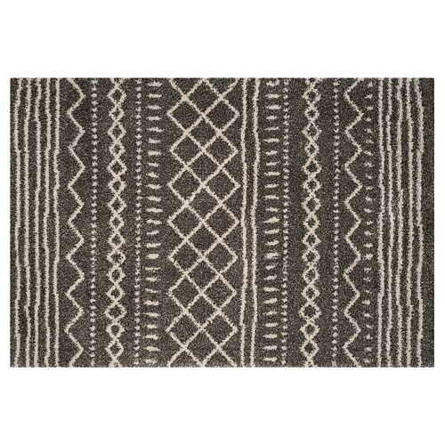 Safavieh Arizona Mesa Striped Shag Rug