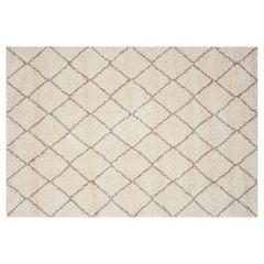 Safavieh Arizona Tempe Lattice Shag Rug