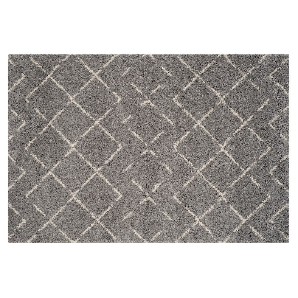 Safavieh Arizona Sedona Lattice Shag Rug