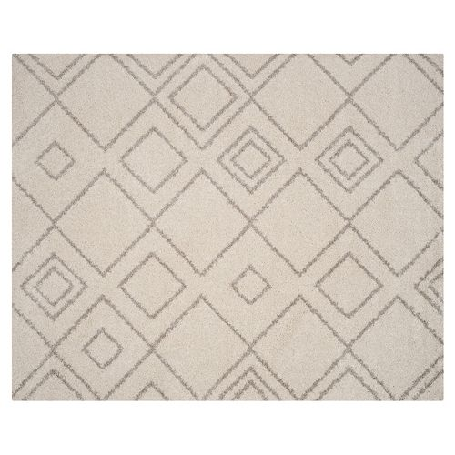 Safavieh Arizona Glendale Lattice Shag Rug