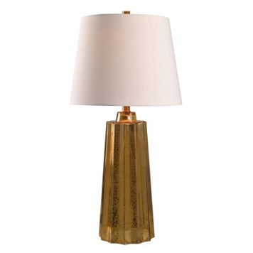 Kenroy Home Speckled Glass Table Lamp