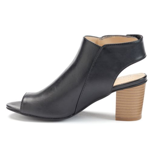 Andrew Geller Sellney Women's Block Heel Sandals