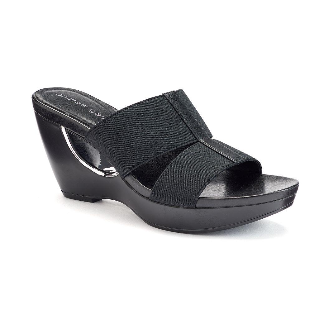 Andrew Geller Abradie Women's Wedge Sandals