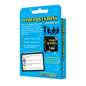 Loaded Questions On-The-Go Card Game by All Things Equal