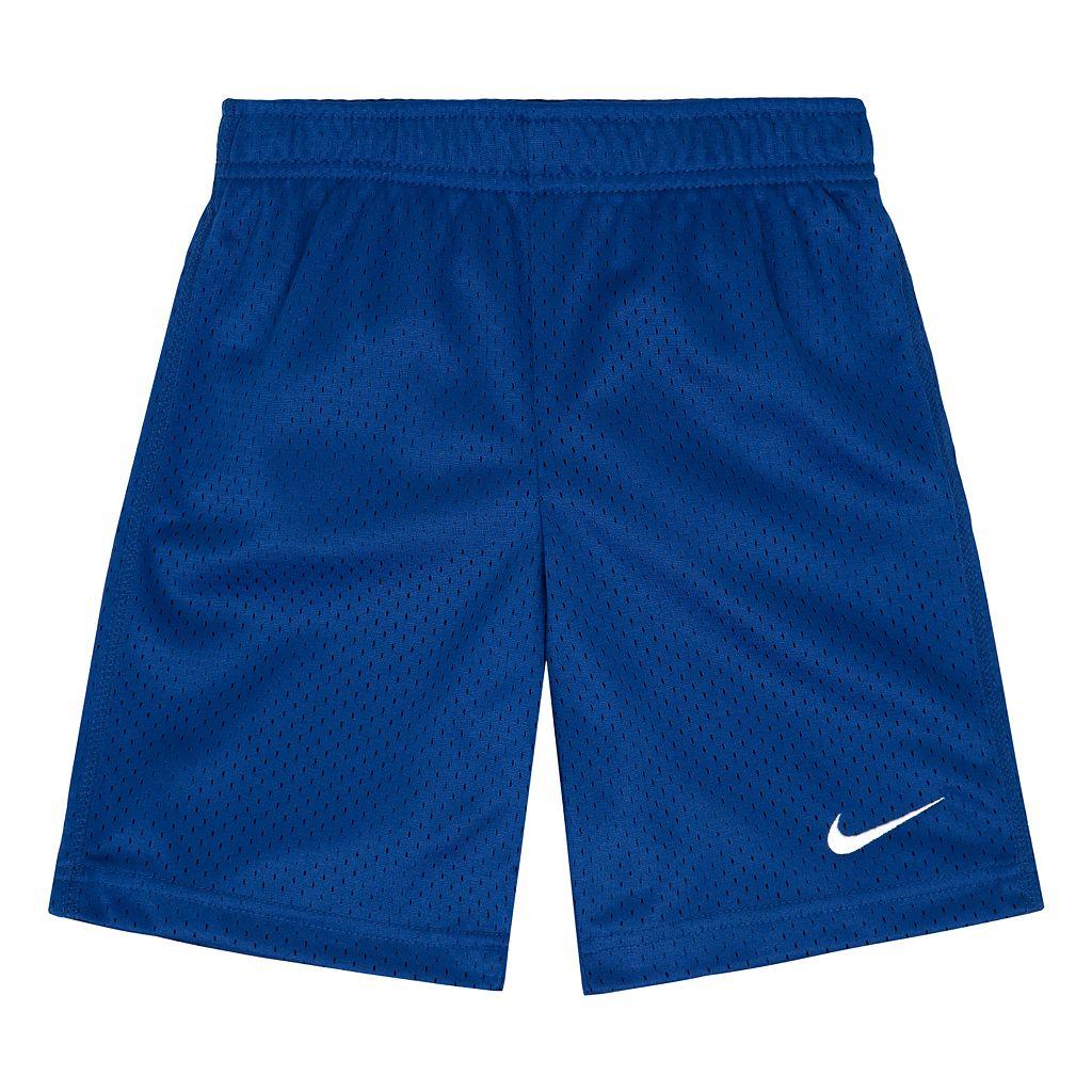 Boys 4-7 Nike Basic Mesh Shorts