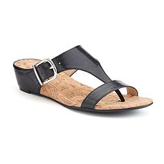 Andrew Geller Iwin Women's Wedge Sandals