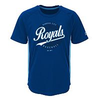Boys 4-7 Majestic Kansas City Royals Big Game Tee