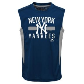 Boys 4-7 Majestic New York Yankees One Game Muscle Tee