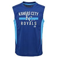 Boys 4-7 Majestic Kansas City Royals One Game Muscle Tee