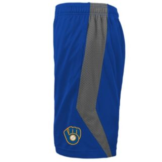 Boys 4-7 Majestic Milwaukee Brewers Last Rally Shorts