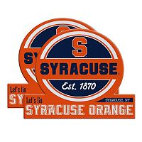 Syracuse Orange Jumbo Tailgate Magnet 2-Pack