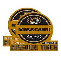 Missouri Tigers Jumbo Tailgate Magnet 2-Pack