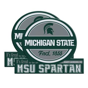 Michigan State Spartans Jumbo Tailgate Magnet 2-Pack