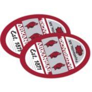 Arkansas Razorbacks Jumbo Game Day Magnet 2-Pack