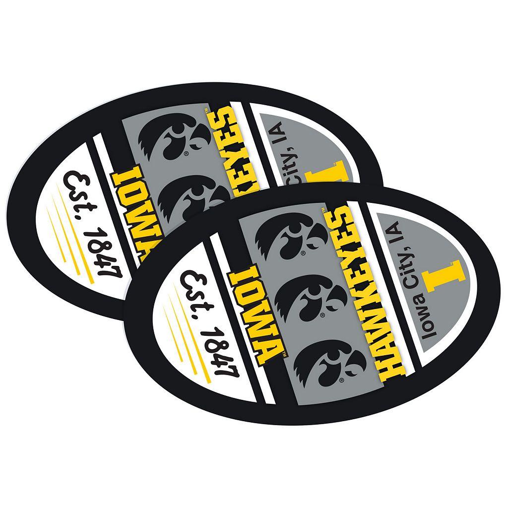 Iowa Hawkeyes Jumbo Game Day Magnet 2-Pack