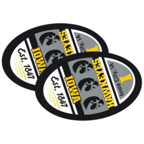 Iowa Hawkeyes Jumbo Game Day Magnet 2-Pack
