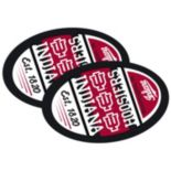 Indiana Hoosiers Jumbo Game Day Magnet 2-Pack