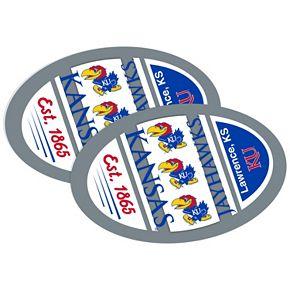 Kansas Jayhawks Jumbo Game Day Magnet 2-Pack