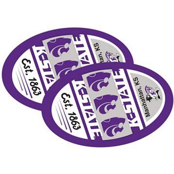Kansas State Wildcats Jumbo Game Day Magnet 2-Pack