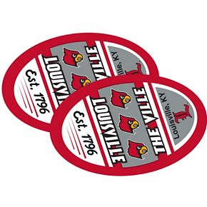 Louisville Cardinals Jumbo Game Day Magnet 2-Pack
