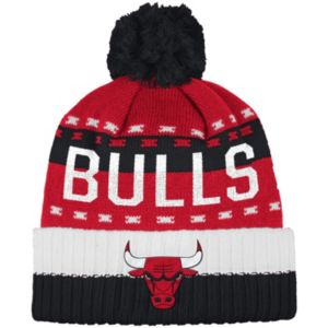 Men's adidas Chicago Bulls Pom Cuffed Beanie