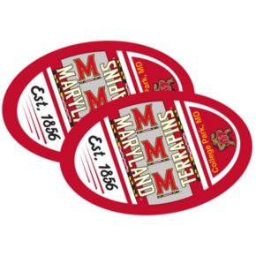 Maryland Terrapins Jumbo Game Day Magnet 2-Pack