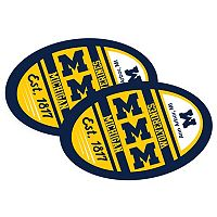 Michigan Wolverines Jumbo Game Day Magnet 2-Pack