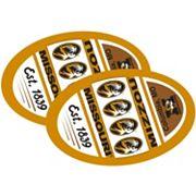 Missouri Tigers Jumbo Game Day Magnet 2-Pack