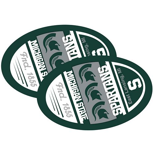 Michigan State Spartans Jumbo Game Day Magnet 2-Pack