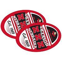 Nebraska Cornhuskers Jumbo Game Day Magnet 2-Pack