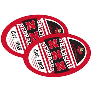 Nebraska Cornhuskers Jumbo Game Day Magnet 2-Pack