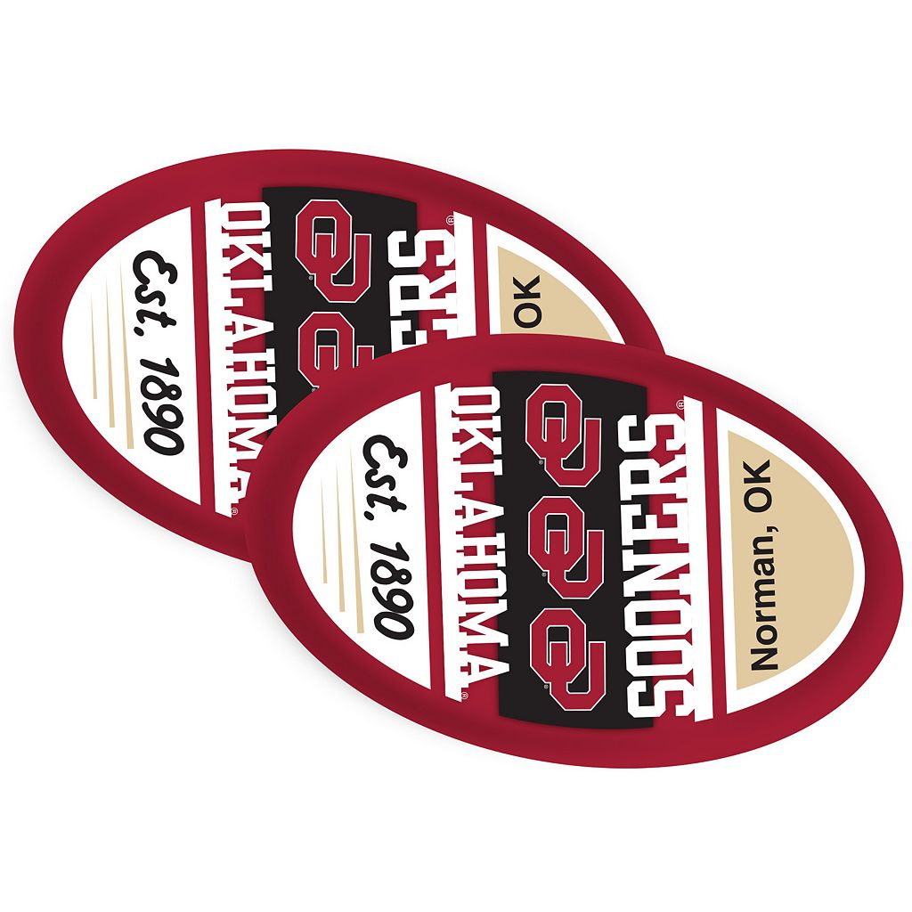 Oklahoma Sooners Jumbo Game Day Magnet 2-Pack
