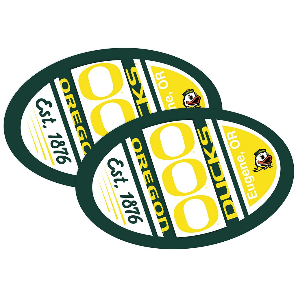 Oregon Ducks Jumbo Game Day Magnet 2-Pack
