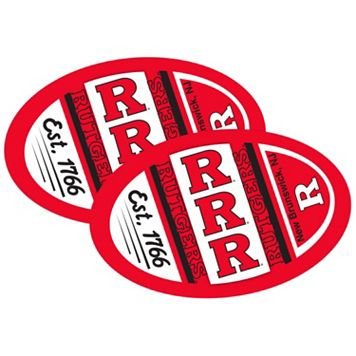 Rutgers Scarlet Knights Jumbo Game Day Magnet 2-Pack