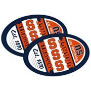 Syracuse Orange Jumbo Game Day Magnet 2-Pack