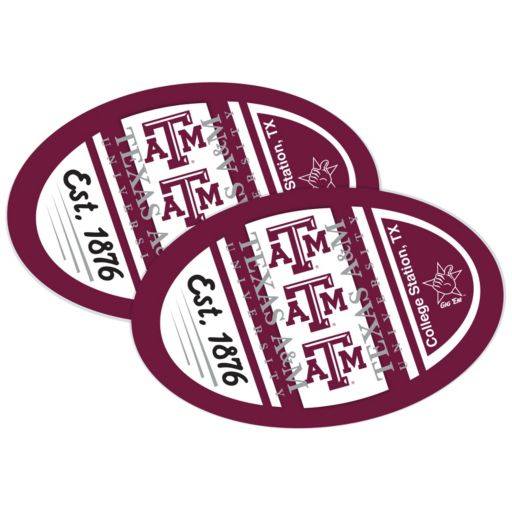 Texas A&M Aggies Jumbo Game Day Magnet 2-Pack