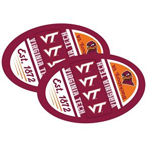 Virginia Tech Hokies Jumbo Game Day Magnet 2-Pack