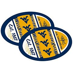 West Virginia Mountaineers Jumbo Game Day Magnet 2-Pack