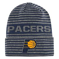 Men's adidas Indiana Pacers Striped Beanie