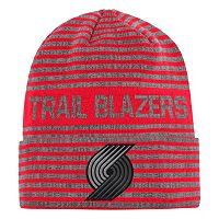 Men's adidas Portland Trail Blazers Striped Beanie