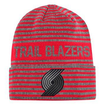 Men's adidas Portland Trail Blazers Striped Beanie