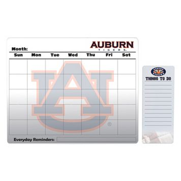 Auburn Tigers Magnetic Dry Erase Calendar & To-Do Board Set