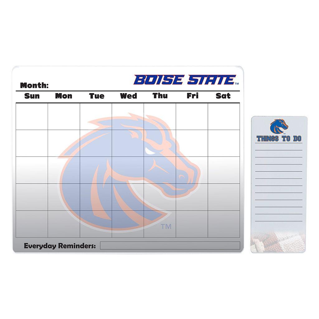 Boise State Broncos Magnetic Dry Erase Calendar & To-Do Board Set