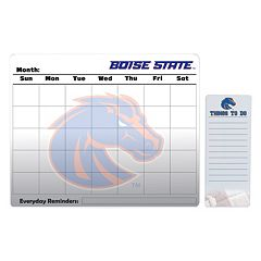 Boise State Broncos Magnetic Dry Erase Calendar & To-Do Board Set