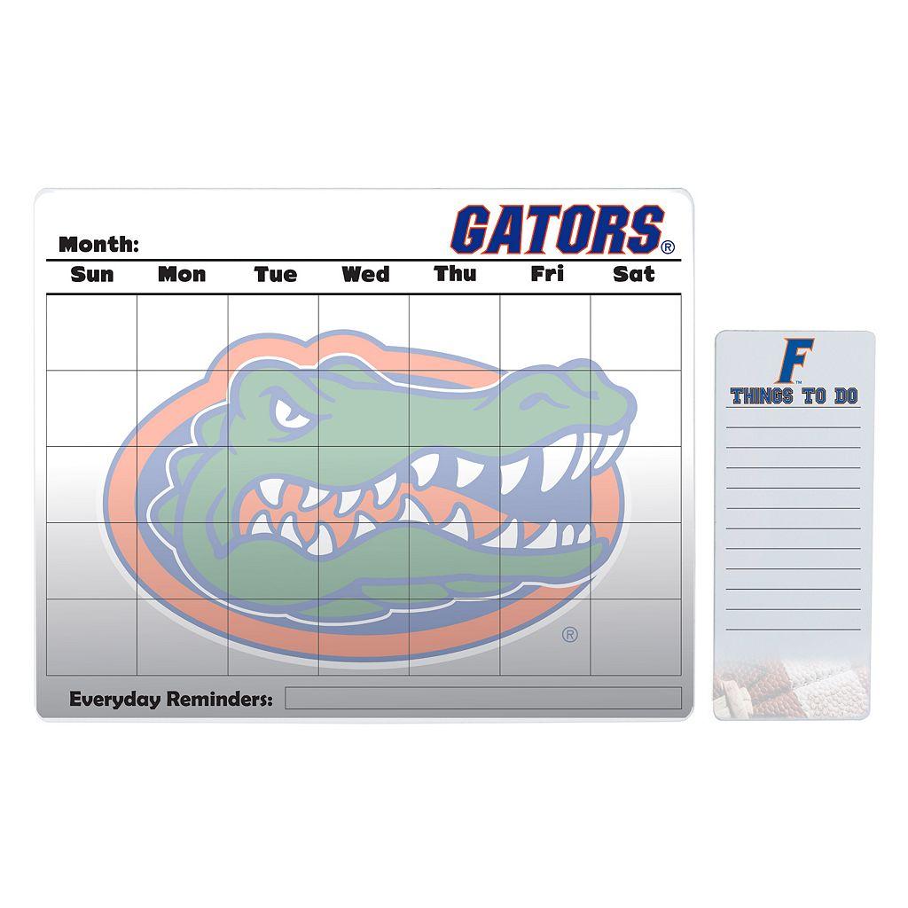 Florida Gators Magnetic Dry Erase Calendar & To-Do Board Set