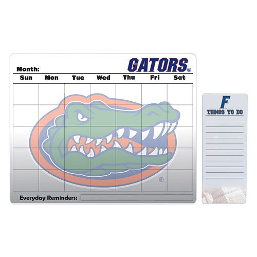 Florida Gators Magnetic Dry Erase Calendar & To-Do Board Set