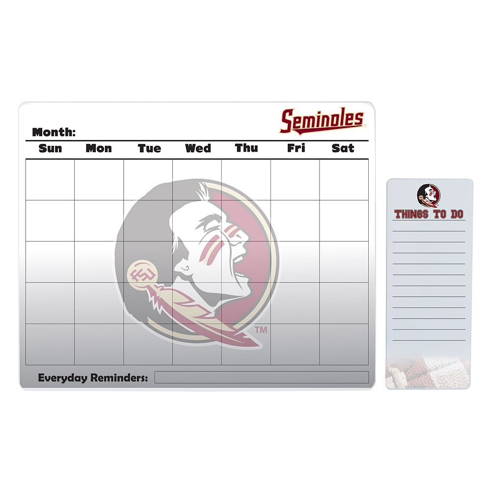 Florida State Seminoles Magnetic Dry Erase Calendar & To-Do Board Set