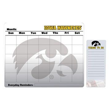Iowa Hawkeyes Magnetic Dry Erase Calendar & To-Do Board Set