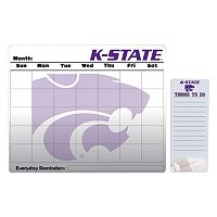 Kansas State Wildcats Magnetic Dry Erase Calendar & To-Do Board Set